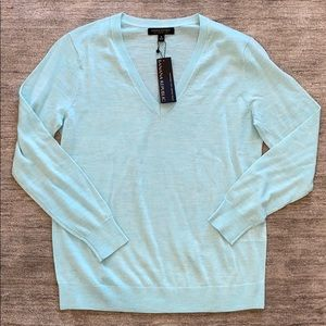 Teal Banana Republic Sweater